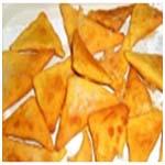 Конвертики или колобки из кукурузной муки с сыром